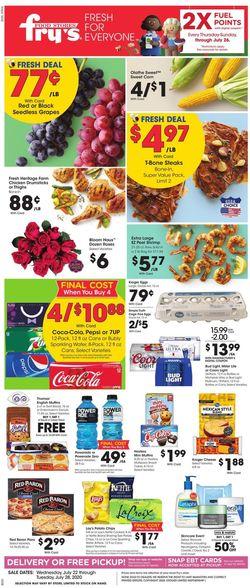 Catalogue Fry's from 07/22/2020