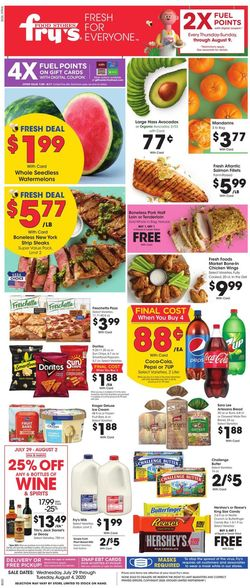 Catalogue Fry's from 07/29/2020