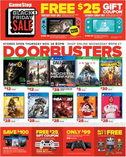 Current weekly ad Game Stop