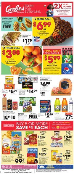 Catalogue Gerbes Super Markets from 08/05/2020