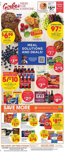 Current weekly ad Gerbes Super Markets