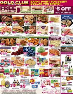 Catalogue Gerrity's Supermarkets from 06/27/2021