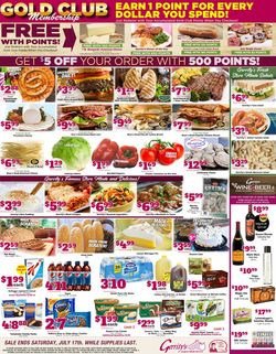 Catalogue Gerrity's Supermarkets from 07/11/2021