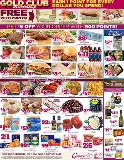 Current weekly ad Gerrity's Supermarkets
