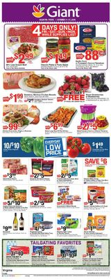 Giant Food weekly-ad