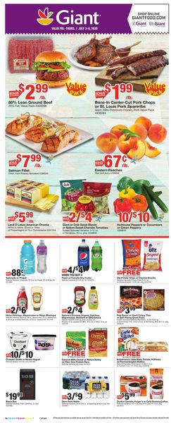Catalogue Giant Food from 07/03/2020