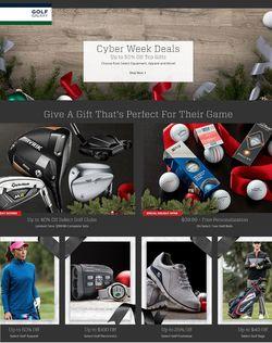 Golf Galaxy Cyber Monday 2020
