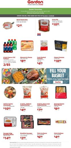 Current weekly ad Gordon Food Service Store