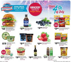 Catalogue Grocery Outlet from 07/01/2020