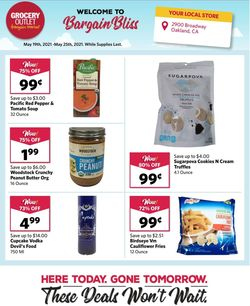 Catalogue Grocery Outlet from 05/19/2021