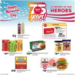 Catalogue Grocery Outlet from 05/26/2021