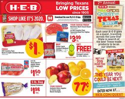 Catalogue H-E-B from 03/04/2020