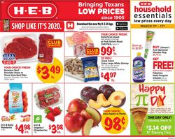 Catalogue H-E-B from 03/11/2020