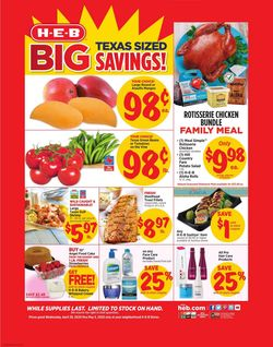 Catalogue H-E-B from 04/29/2020