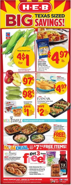 Catalogue H-E-B from 05/13/2020