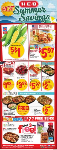 Catalogue H-E-B from 05/20/2020