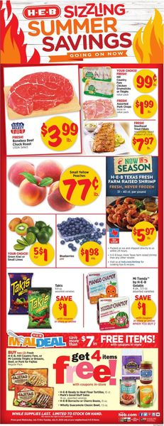 Catalogue H-E-B from 07/15/2020