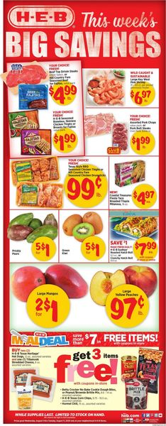 Current weekly ad H-E-B