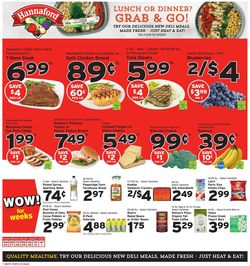 Catalogue Hannaford from 07/26/2020