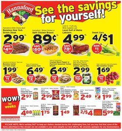 Catalogue Hannaford from 08/09/2020