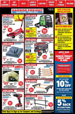 Current weekly ad Harbor Freight