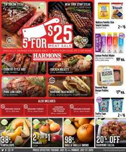 Catalogue Harmons from 07/21/2020