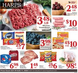 Catalogue Harps Foods from 07/29/2020
