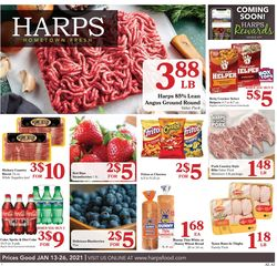 Current weekly ad Harps Foods