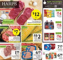 Catalogue Harps Foods from 09/01/2021