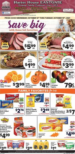 Current weekly ad Harter House