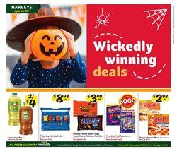 Harveys Supermarket Halloween 2021