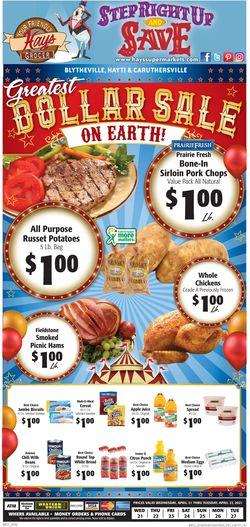 Current weekly ad Hays Supermarket
