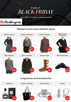 Current weekly ad Herberger's
