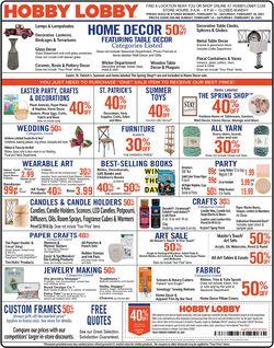 Hobby Lobby Shops Farmington Opening Hours Frequent Ads Com