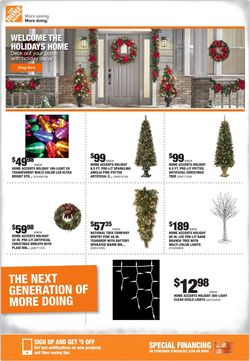 Home Depot - Holiday Ad 2019