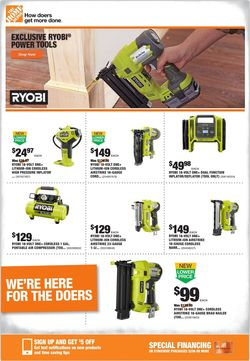 Catalogue Home Depot from 05/28/2020