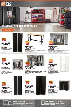 Catalogue Home Depot from 08/03/2020