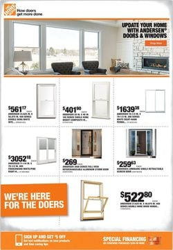 Catalogue Home Depot from 09/17/2020