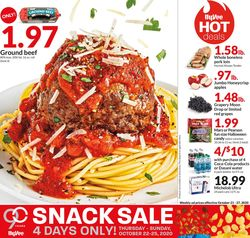 Current weekly ad HyVee
