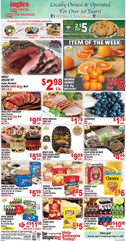 Current weekly ad Ingles