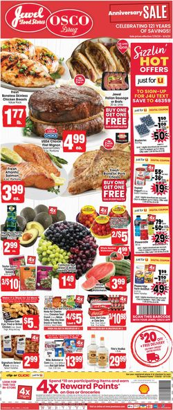 Catalogue Jewel Osco from 07/29/2020