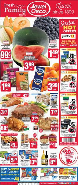 Current weekly ad Jewel Osco