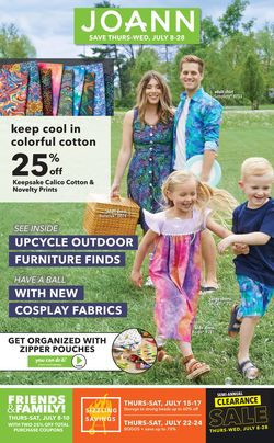 Current weekly ad Jo-Ann