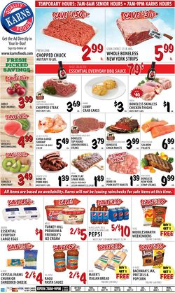 Catalogue Karns Quality Foods from 07/28/2020