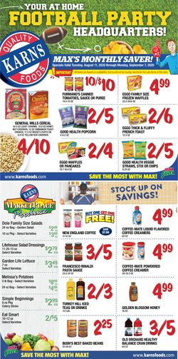 Catalogue Karns Quality Foods from 08/11/2020