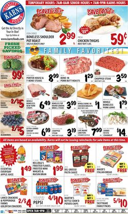 Current weekly ad Karns Quality Foods