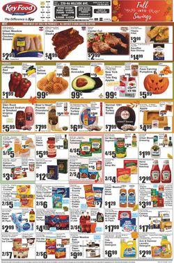Current weekly ad Key Food