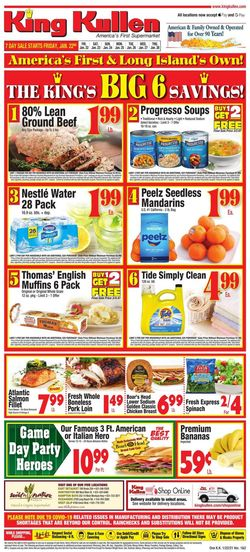 Current weekly ad King Kullen