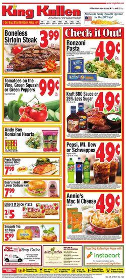 Current weekly ad King Kullen