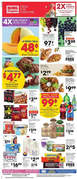 Catalogue King Soopers from 07/29/2020